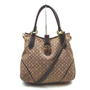 Louis Vuitton  Sepia Monogram Idylle Mini Lin Elegie 2way Hobo Bag 862293