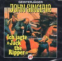 "JOHN SINCLAIR - Teil 49 - Ich jagte ""Jack the Ripper"" - AUDIO CD - NEU OVP"