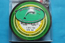 Braided line 8lb 0.4 pe, ideal for dropshot, lrf, ultralight fishing