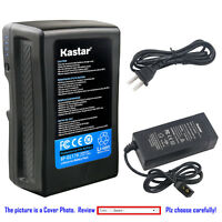Kastar Battery + Charger for Sony V Mount V Lock Battery Sony PMW-F55 Camcorder