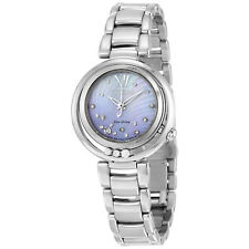 Citizen Sunrise Eco-Drive Diamond Dial Stainless Steel Ladies Watch EM0320-59D