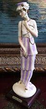 """Giuseppe Armani Figurine Figure Sculpture Statue """"Lady With Necklace"""" Mint"""