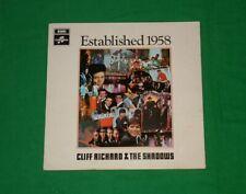 CLIFF RICHARD & THE SHADOWS Established 1958 POP BEAT LP