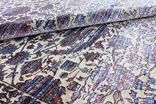 Tabriz Multi Color 8'x10' wool & Bamboo Silk Handmade Oriental Area Rugs Carpets