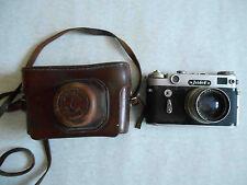 RARE export type ZORKIY ZORKI 6 Leica copy Russian rangefinder camera. Jupiter 8