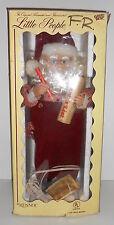 Animated SANTA CLAUS Pencil List Rennoc Little People Santa's Best Christmas Box