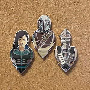 Star Wars Celebration 2020 Pin Mandalorian Set Din Cara IG-11