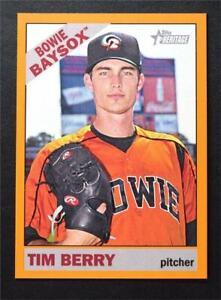 2015 Topps Heritage Minors Orange #160 Tim Berry /25 - NM-MT