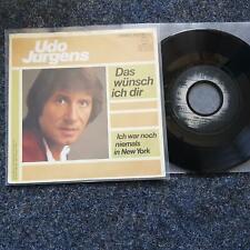 Udo Jürgens - Ich war noch niemals in New York 7'' Single
