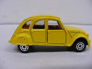 Corgi Citroen 2CV6 Yellow James Bond Car From For Eyes Only Model Only No Box