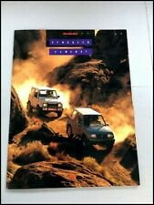 1990 Suzuki Sidekick and Samurai 20-page Original Car Sales Brochure Catalog