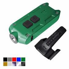 Nitecore TIP 2017 Upgrade 360 Lumen USB Rechargeable Keychain Flashlight (Green)
