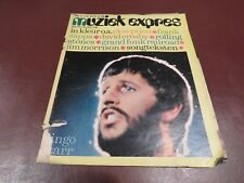 MUZIEK EXPRES  vintage european music magazine from June 1971