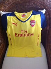 Puma England Arsenal Fc Gunners Soccer/futbol  Jersey New With Tags Size L Youth