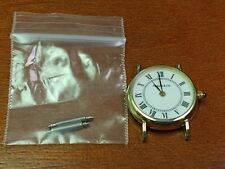 Vintage Tiffany & Co 14k Ladies Wristwatch Sapphire Crown Swiss New Battery!!