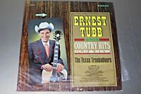 "ERNEST TUBB on LP album "" COUNTRY HITS OLD & NEW "" country"