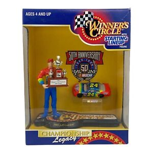 Vintage 1995 Jeff Gordon Legacy Championship Winners Circle Trophy Cup