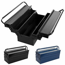 """21""""Heavy Duty Metal Cantilever Tool box Workshop 3 Tier 5 Tray Toolchest Storage"""