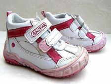 NEW BABY GIRLS NATURAL LEATHER WALKING SHOES TOE CAP TRAINERS SIZES UK 4 5 6 8 9