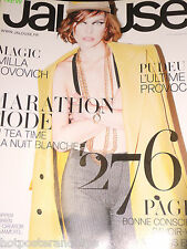 Jalouse Magazine No. 143 Sept. 2011 Milla Jovovich Mode Kleidung Top Model