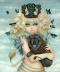 "Camilla d'Errico - ""Leo"" 11x14"" - Art Print - Signed"