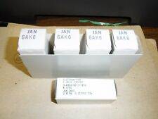 6AK6 GE General Electric JAN Tube Lots of 5 Pieces
