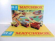 Matchbox Lesney Product / Display Roadway Séries/ Building Construction Site