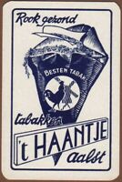 Playing Cards Single Card Old t'HAANTJE TOBACCO Pipe Cigarette Advertising Art 3