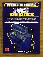Ford Big Block Muscle Car & Hi-Performance Engines 385, 390, 427, 428, 429 & 460