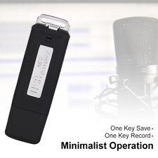 16 GB Voice Recorder & USB-Stick Geräuschaktivierte Aufnahme Diktiergerät