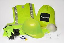 Safety Sacks All-in-One Construction Safety Kit - PPE Construction Work Kit