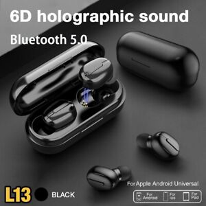Écouteurs sans fil Bluetooth 5.0 TWS L13, de sport étanches 9D HiFi stéréo 2021