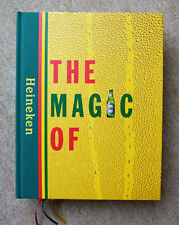 HEINEKEN BUCH KARTENSPIEL 90-806280-1-8 THE MAGIC OF HEINEKEN BIER BEERE KULT JO