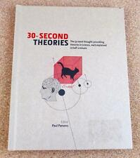 30 Second Theories Paul Parsons NEW Hardcover 50 Science Theories Reference