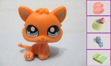 Littlest Pet Shop #1371 Orange Baby Kitten Cat +1 FREE Access 100% Authentic