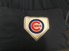 POTTERY BARN MLB Chicago Cubs Twin Duvet Cover + Sham MLB Patch