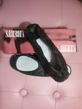 Black unisex ballet shoes sizes 8-11 SPECIFY SIZE