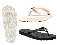 Michael Kors Jet Set Signature MK Logo Womens Flip Flop Sandal Choose Size Color