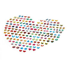 31 Pair Girls Stick on Earrings Sheet Party Filler Adhesive Stud Pair Sticky
