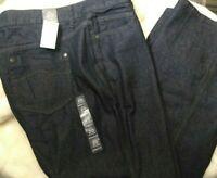Avenue Denim Womens Bootcut Black Jeans Size 20 Average NWT