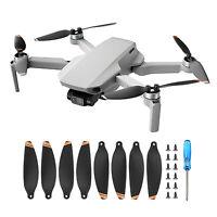 1/2/4 Paar Black PC Noise Propeller Set für DJI Mini 2 Drohnenzubehör
