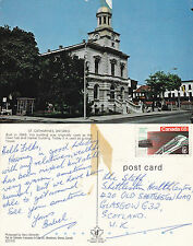 1980's St CATHARINES ONTARIO CANADA COLOUR POSTCARD