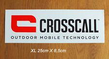 Crosscall Outdoor Action Sport Mobile XL Sticker Aufkleber Adesivo (S231)