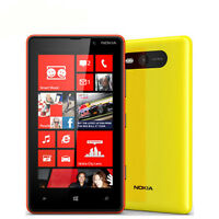 Nokia Lumia 820 Unlocked GSM 3G 4G 4.3'' 8GB Storage NFC Wifi GPS 8MP Windows