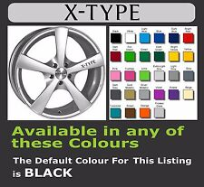 JAGUAR X-TYPE Decals/Stickers for Alloy Wheels x 6