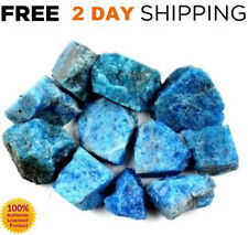 1/2LB BLUE APATITE LOT Rough Raw Crystal Stones MADAGASCAR BEST VALUE Gems LARGE