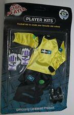 Sporting Dolls Limited Action man type Footballer Kit Goalkeeper Yellow + Gloves