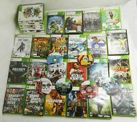 LOT Of 35! Xbox 360 Games Halo 3 4 GTA Marvel RDR COD LEGO SkyRim Creed NFS Sims