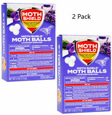 2 Pack Moth Balls Moth Shield Lavender Scent Kills Clothes Moths Carpet Beetles