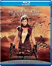 Resident Evil: Extinction (Blu-ray Disc, 2008) *Brand New*